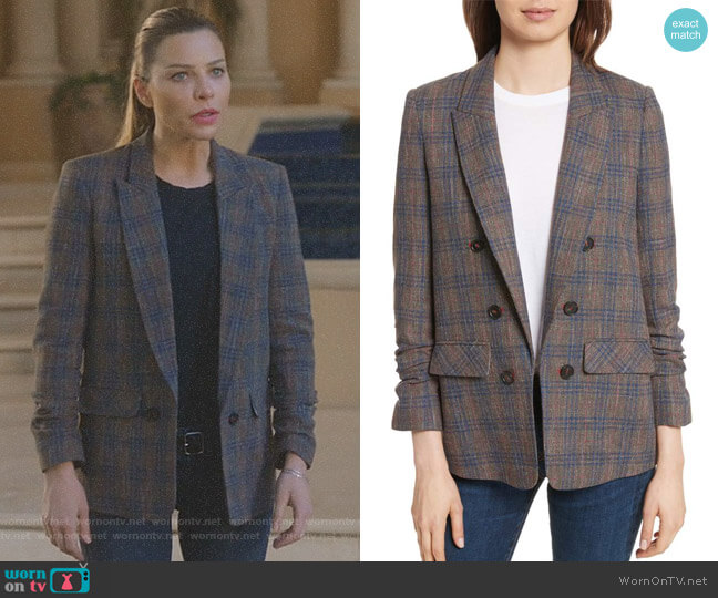 Lucifer Boo Normal: WornOnTV: Chloe's Plaid Blazer On Lucifer