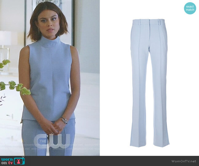 worn by Nathalie Kelley on Dynasty