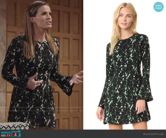 ALC Trixie Dress worn by Chelsea Lawson (Melissa Claire Egan) on The Young & the Restless