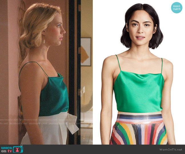 Alice + Olivia Harmon Cami worn by Yael Grobglas on Jane the Virgin
