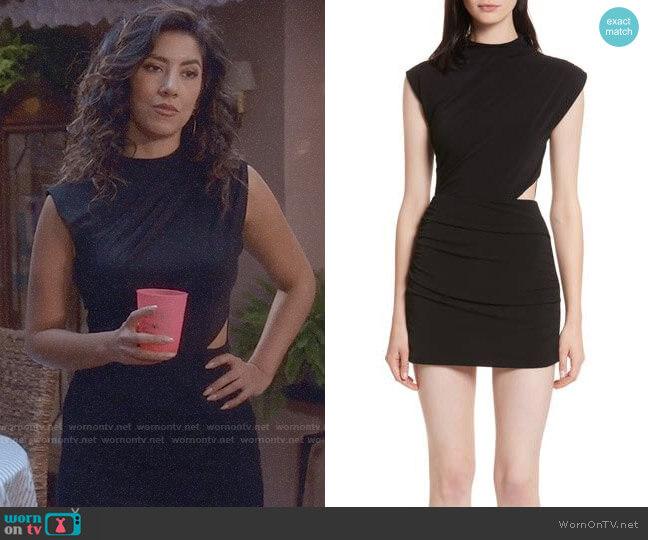 Alice + Olivia Suellen Romper worn by Rosa Diaz (Stephanie Beatriz) on Brooklyn Nine-Nine