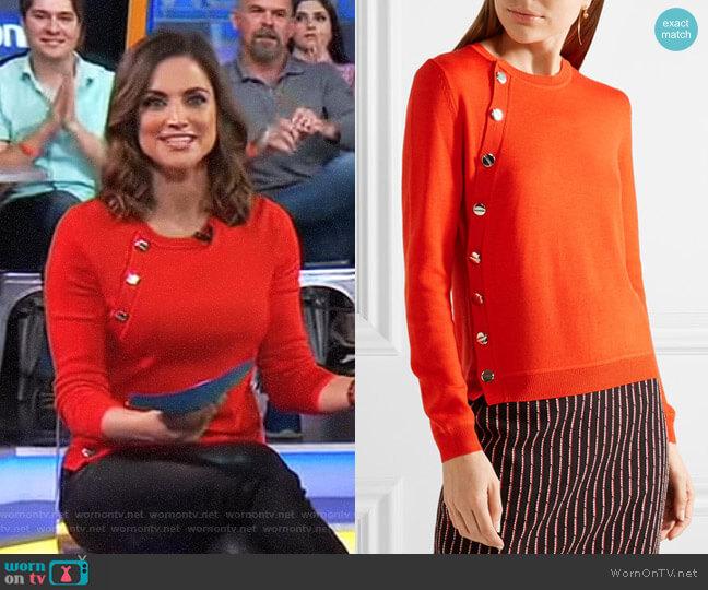 'Minamoto' Sweater by Altuzarra worn by Paula Faris on Good Morning America