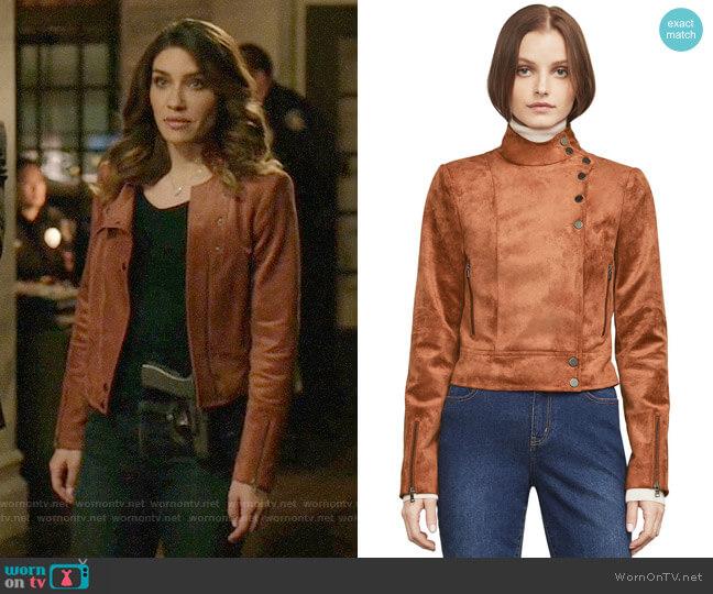 Bcbgmaxazria Hansen Jacket worn by Juliana Harkavy on Arrow