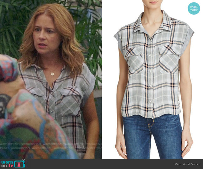 worn by Jenna Fischer on Splitting Up Together
