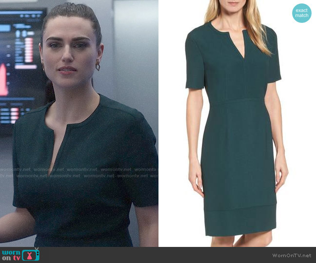 BOSS Dalesana Dress worn by Lena Luthor (Katie McGrath) on Supergirl