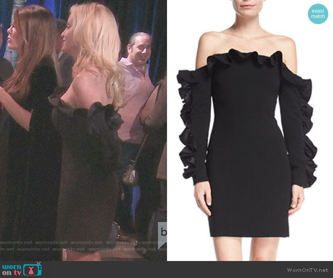 'Rosiemarie' Dress by Cinq a Sept worn by Camille Grammer on The Real Housewives of Beverly Hills