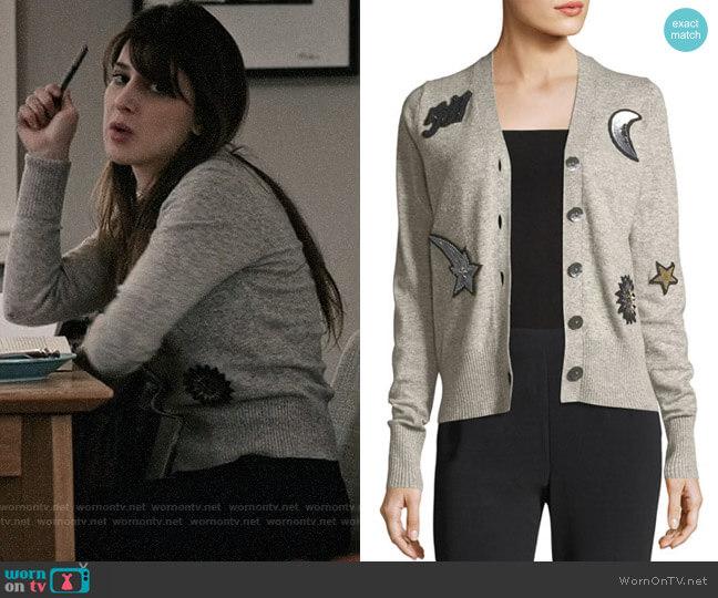 Cinq a Sept Dillon Cardigan worn by Kathrine Herzer on Madam Secretary