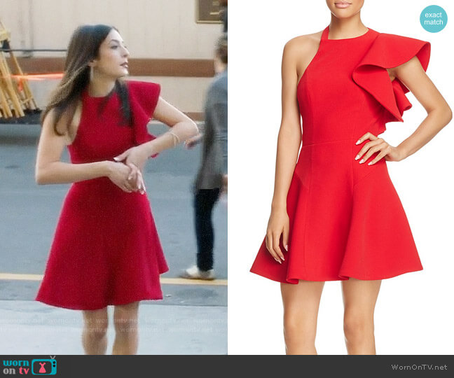 C/Meo Collective Heart Commands Dress worn by Niki Koss on Famous in Love