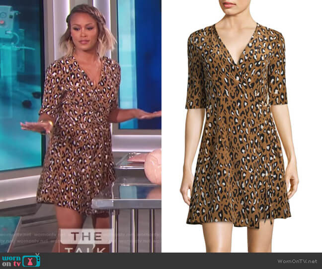 Silk Savilla Dress by Diane von Furstenberg worn by Eve on The Talk