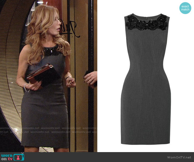 Diane von Furstenberg Mackenzie Dress worn by Tracey Bregman on The Young & the Restless