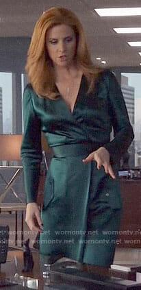 Rachel's (Meghan Markle) white turtleneck sweater on Suits