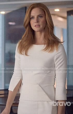 Donna's white dress on Suits