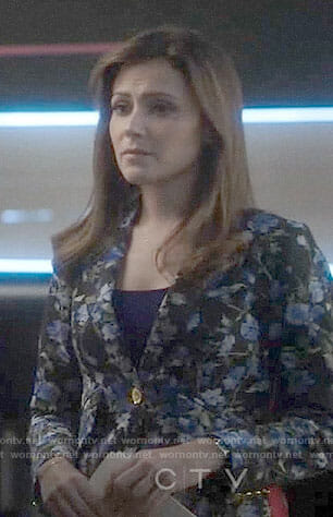 Emly's floral blazer on Designated Survivor