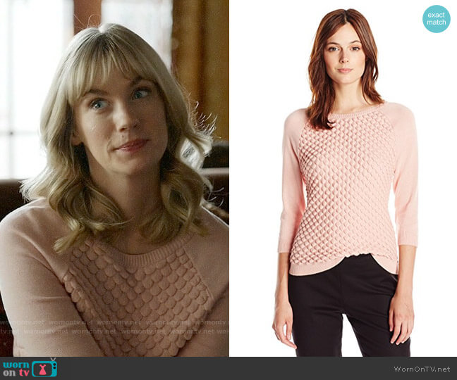 French Connection Audrey Sweater worn by January Jones on Last Man On Earth