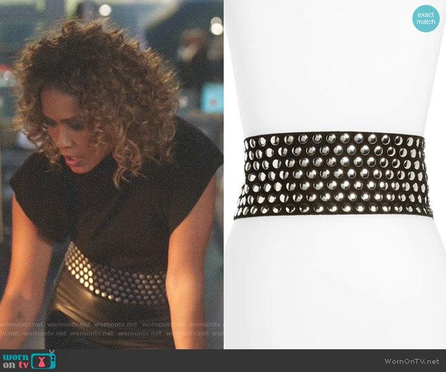 'Lonanda' Belt by IRO worn by Mazikeen (Lesley-Ann Brandt) on Lucifer
