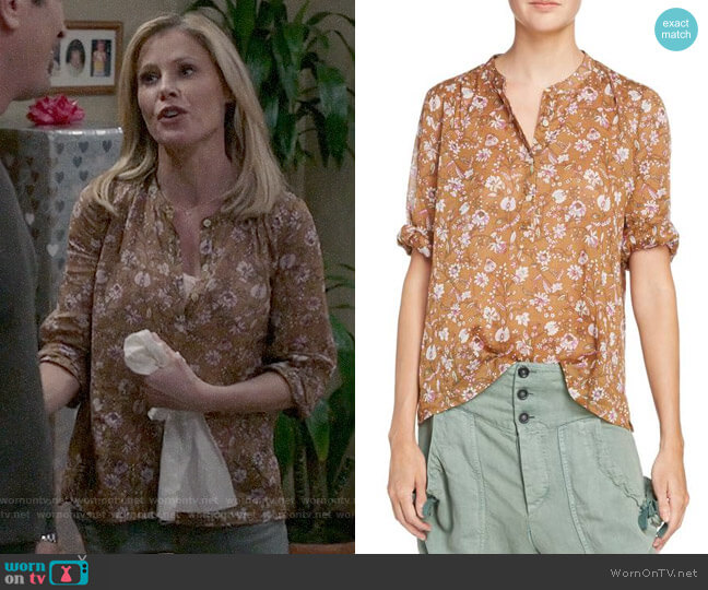 Isabel Marant Etoile Maria Top worn by Julie Bowen on Modern Family