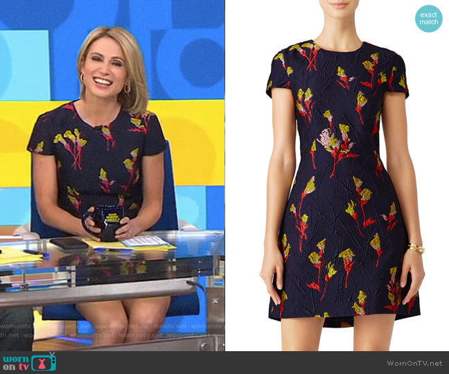 Floral Field Dress by Jason Wu worn by Amy Robach  on Good Morning America
