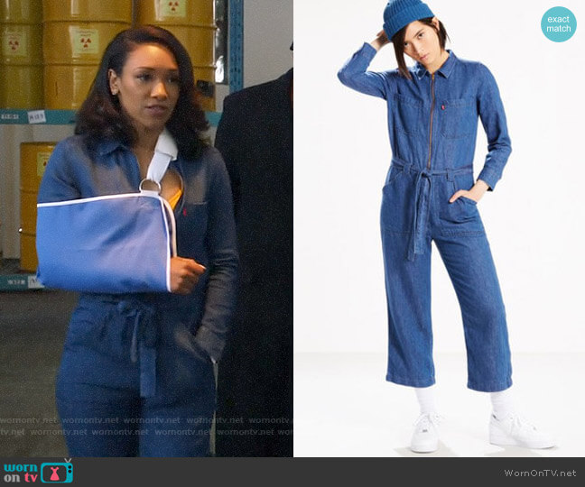 Levi's Alix Jumpsuit worn by Iris West (Candice Patton) on The Flash