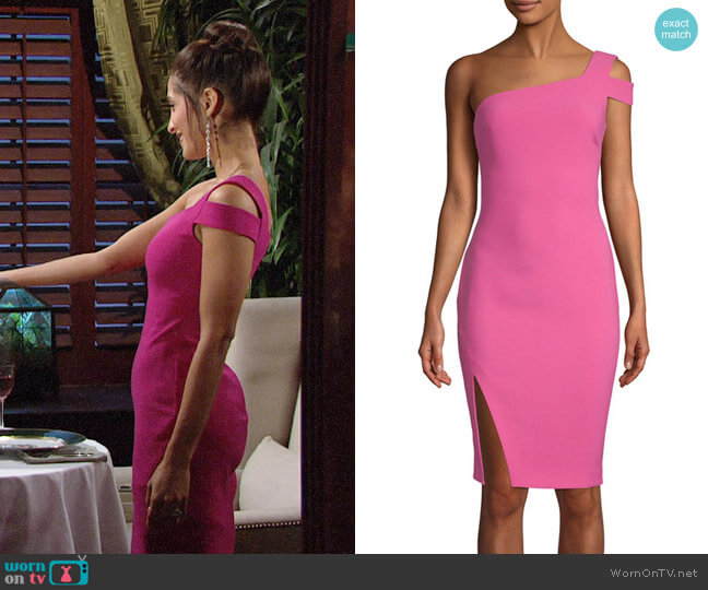Likely Packard Dress worn by Christel Khalil on The Young & the Restless
