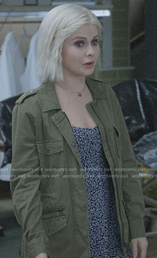 Liv's army jacket on iZombie
