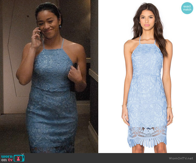 Lovers + Friends Nina Dress worn by Jane Villanueva (Gina Rodriguez) on Jane the Virgin