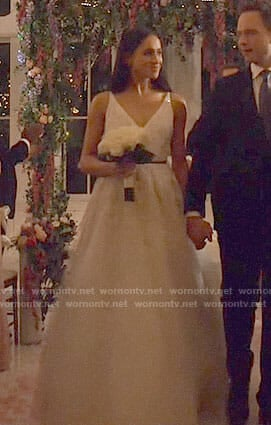 wornontv rachel meghan markle s wedding dress on suits meghan markle clothes and wardrobe from tv wornontv rachel meghan markle s