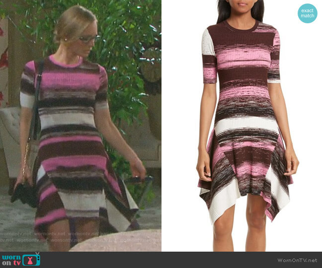 'Delta' Rib Knit Dress by Opening Ceremony worn by Marci Miller on Days of our Lives