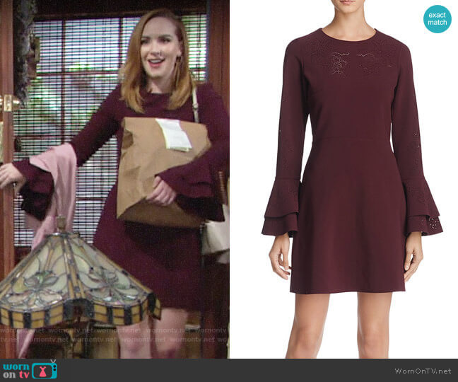 Parker Orlando Dress worn by Mariah Copeland (Camryn Grimes) on The Young & the Restless