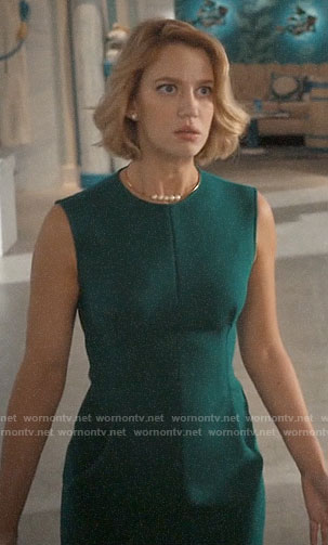 Petra's green dress on Jane the Virgin
