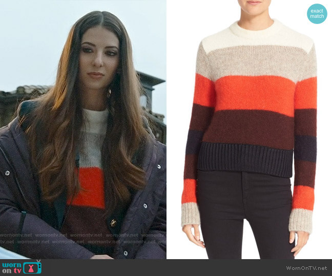 Rag & Bone Britton Pullover worn by Genevieve Buechner on UnReal