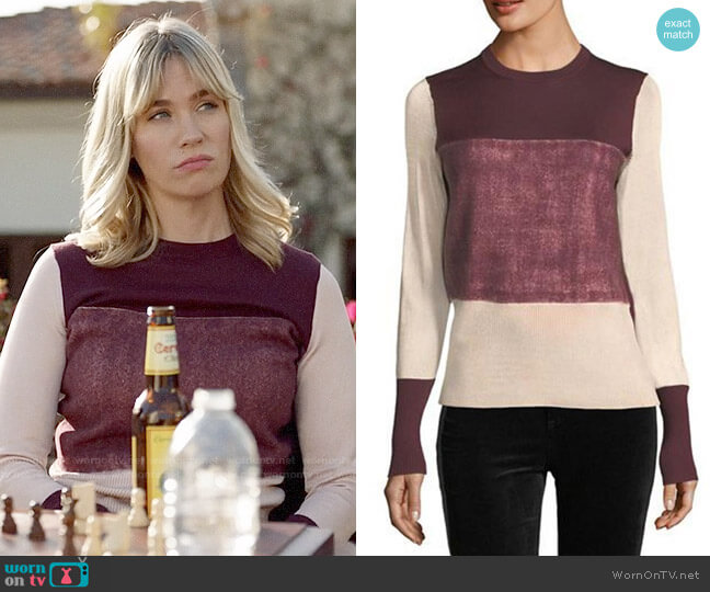 Rag & Bone Marissa Sweater worn by Melissa Shart (January Jones) on Last Man On Earth