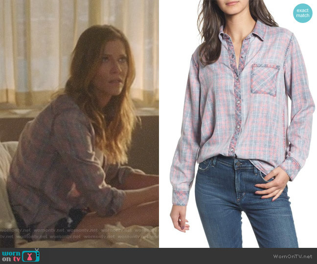 Lucifer Boo Normal: WornOnTV: Charlotte's Washed Out Plaid Shirt On Lucifer