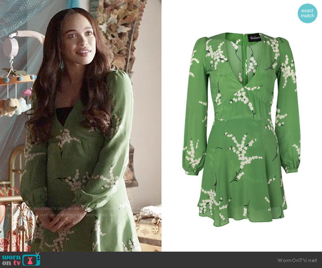 Realisation Par The Kate - Summer Loving Green worn by Erica Dundee (Cleopatra Coleman) on Last Man On Earth