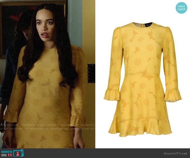 Realisation Par The Mary Jane in Sunflower worn by Cleopatra Coleman on Last Man On Earth