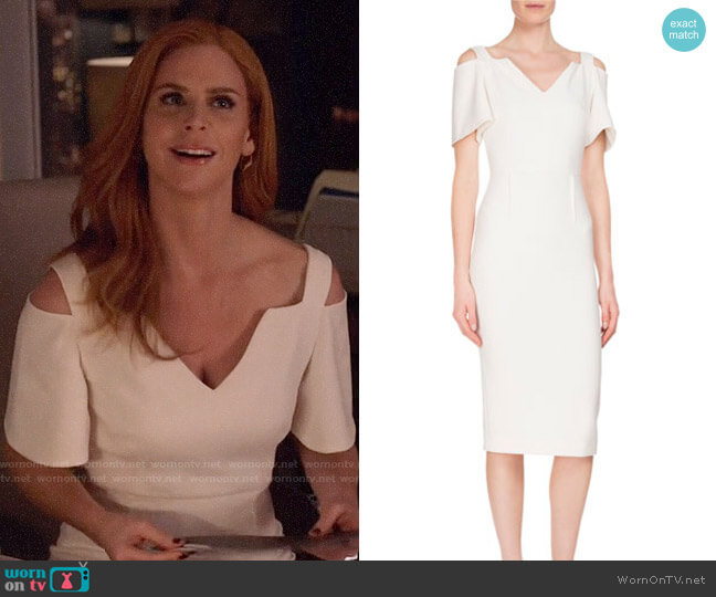 Roland Mouret Awalton Dress worn by Donna Paulsen (Sarah Rafferty) on Suits