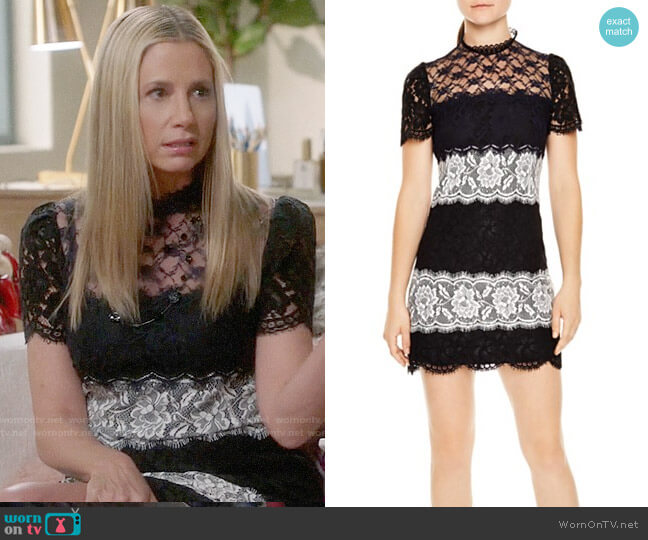 Sandro Darleen Dress worn by Mira Sorvino on Modern Family