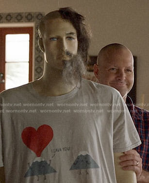 Tandy's mannequin's I Lava You t-shirt on Last Man on Earth