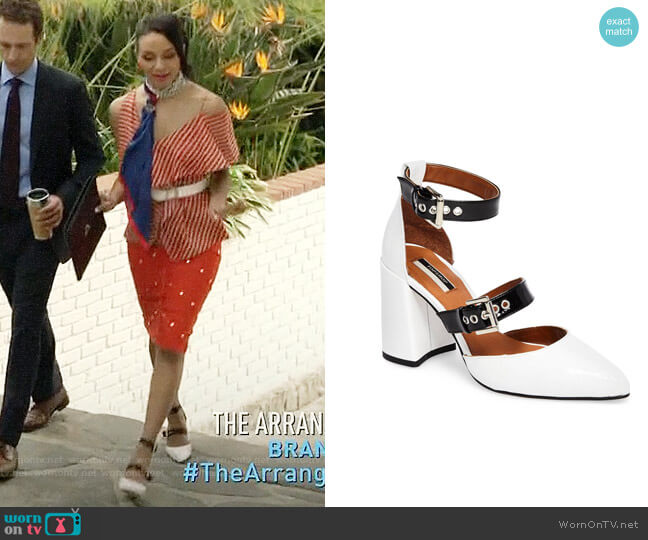 Topshop Gusto d'Orsay Pump worn by Shaun (Carra Patterson) on The Arrangement