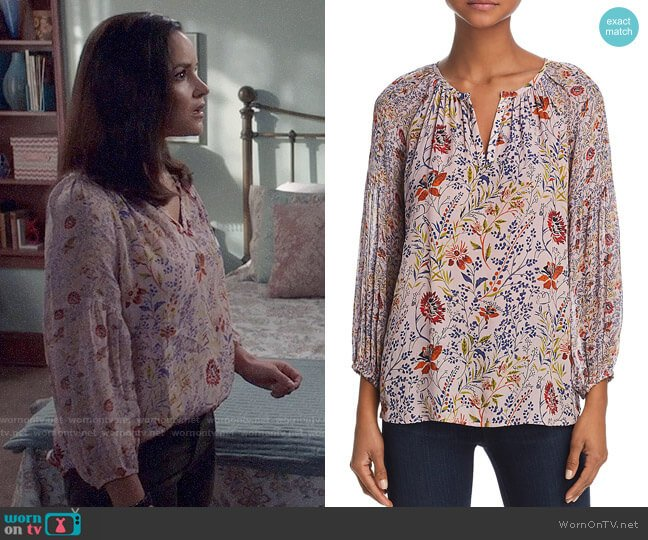 Kandee Top by Velvet by Graham & Spencer worn by Amy Santiago (Melissa Fumero) on Brooklyn Nine-Nine