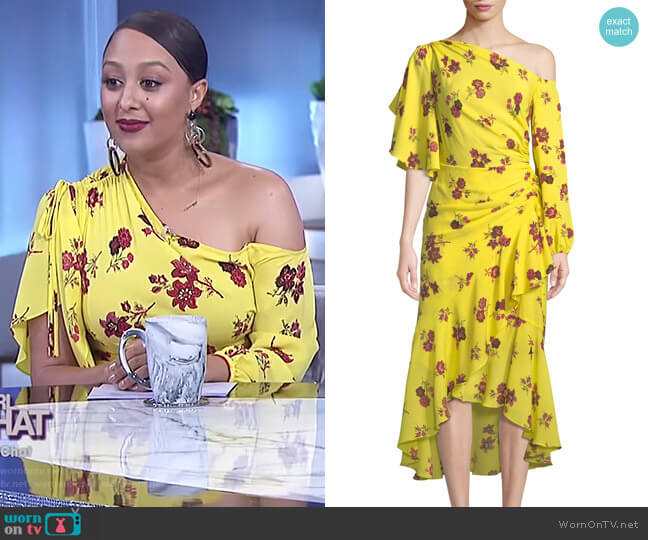 Florence Dress by ALC worn by Tamera Mowry (Tamera Mowry) on The Real