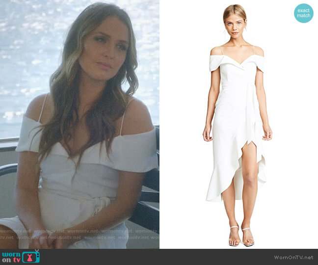 'Josie' Dress by Alice + Olivia worn by Camilla Luddington on Greys Anatomy