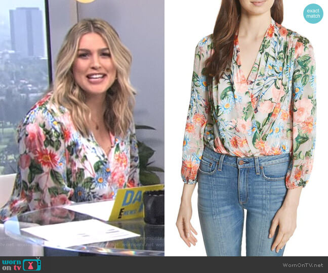 'Trista' Top by Alice + Olivia worn by Carissa Loethen Culiner on E! News