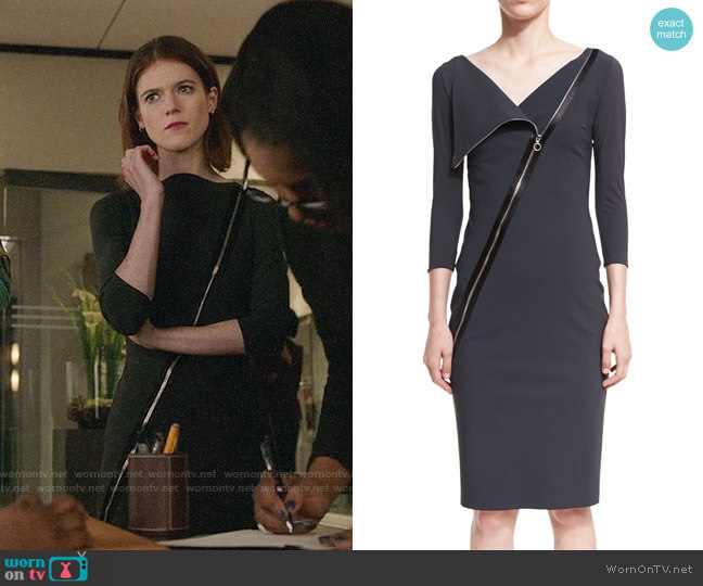 Chiara Boni La Petite Robe Dianthe Dress worn by Maia Rindell (Rose Leslie) on The Good Fight