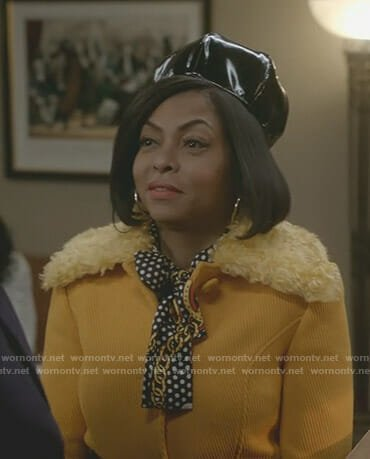 Cookie's yellow coat on Empire