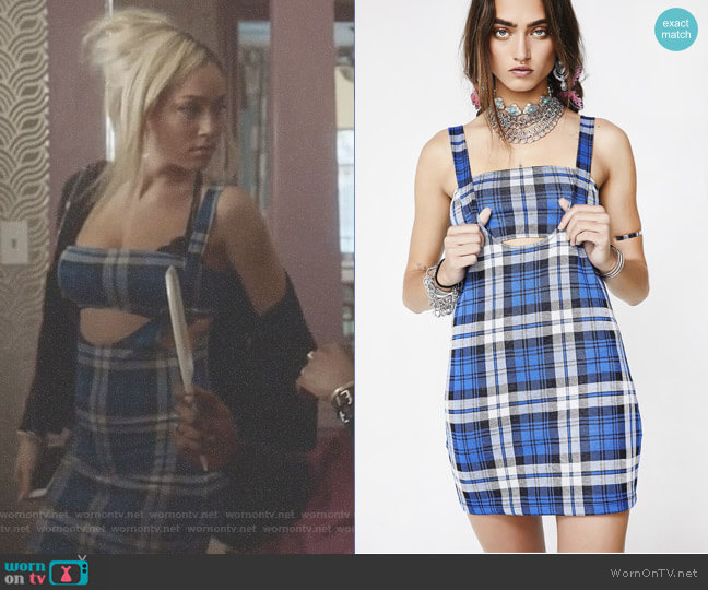 Motel Petra Dress worn by Jude Demorest on Star