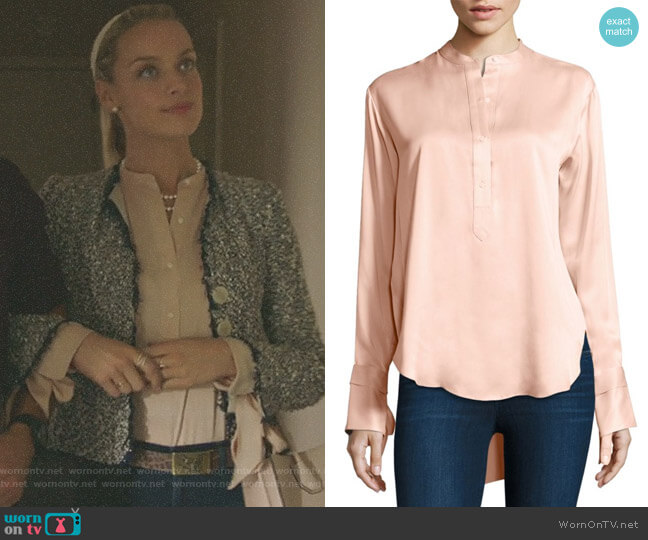 'Dylan' Shirt by Rag & Bone worn by Rachel Skarsten on Imposters
