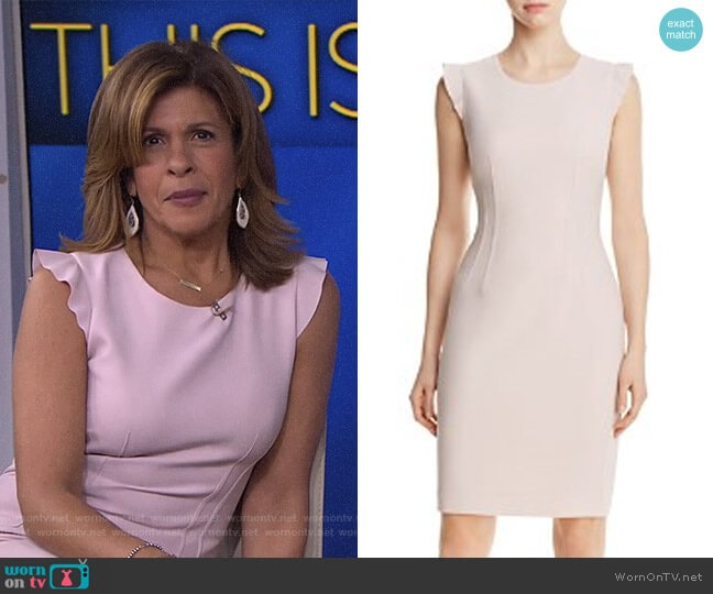 'Stefana' Dress by Elie Tahari worn by Hoda Kotb  on Today