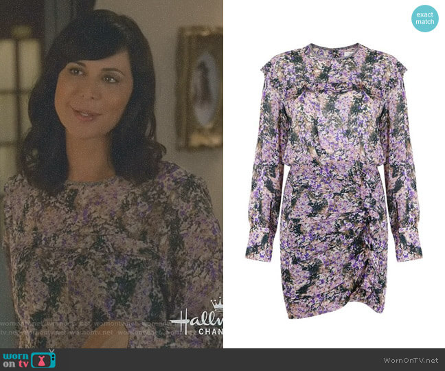 'Jirvina' Dress by Isabel Marant Étoile worn by Catherine Bell on Good Witch