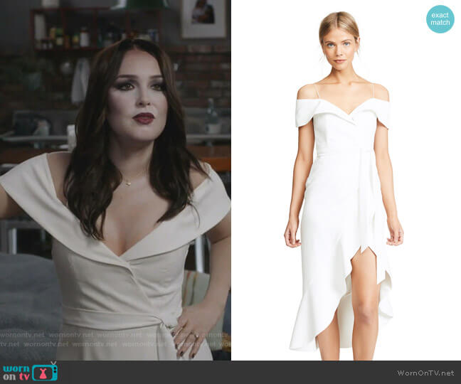 'Josie' Dress by Alice + Olivia worn worn by Jo Wilson (Camilla Luddington) on Greys Anatomy
