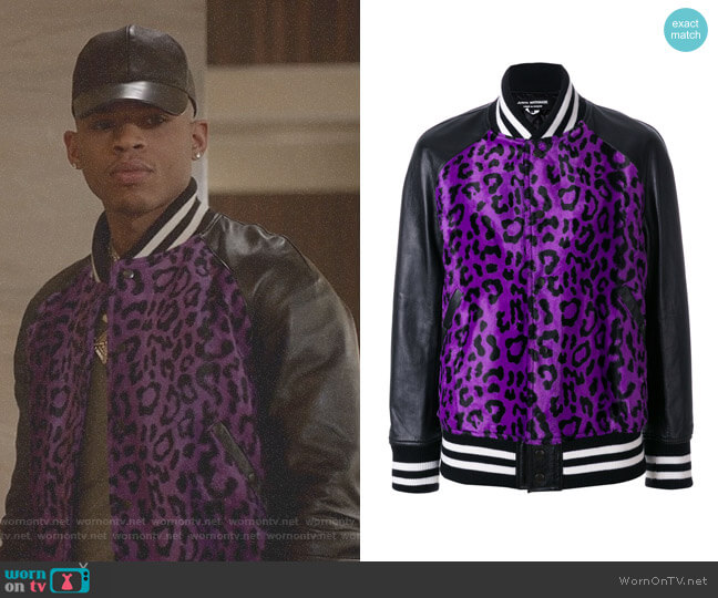 Leopard Print Bomber Jacket by Junya Watanabe worn by Bryshere Y. Gray on Empire